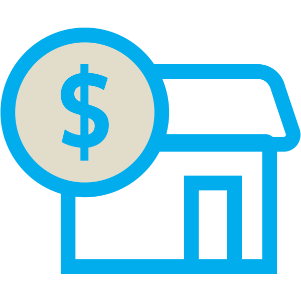 Finance and Mortgages Icon