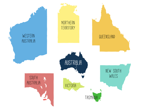 Map Of Australia Facts.Australia Facts Figures March 2019 Proacct Proacct